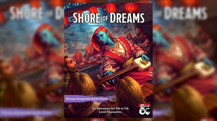 D&D Adventure Shore of Dreams Cover