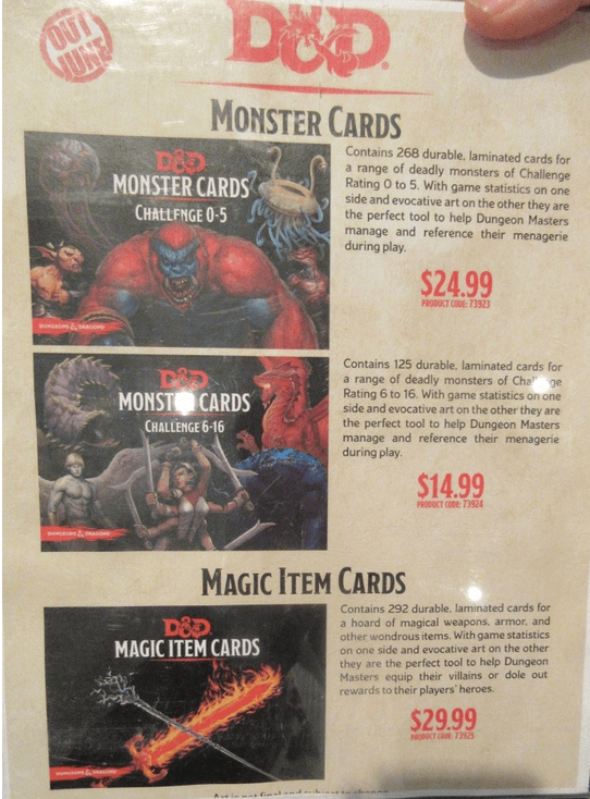 Magic Item Cards GF9