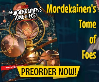 Mordekainen's Tome of Foes Banner