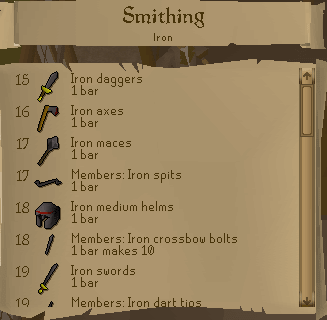 RS Smithing