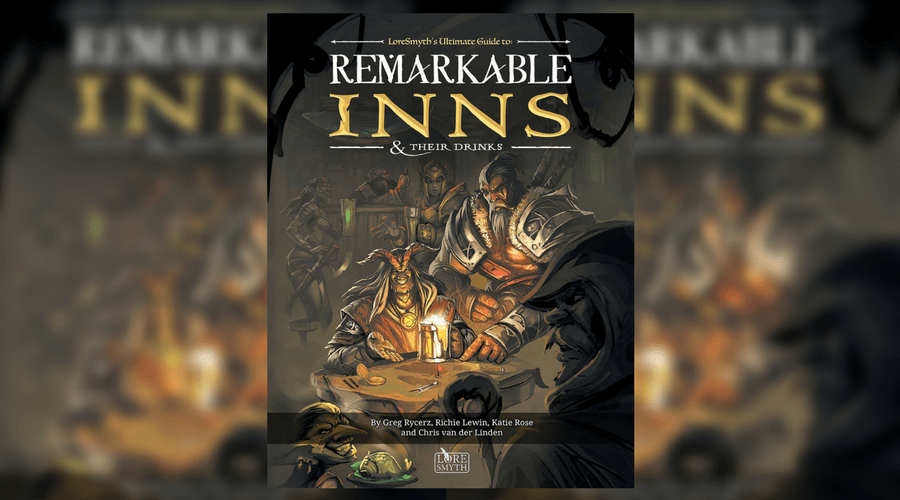 Remarkable Inns and their Drinks Cover