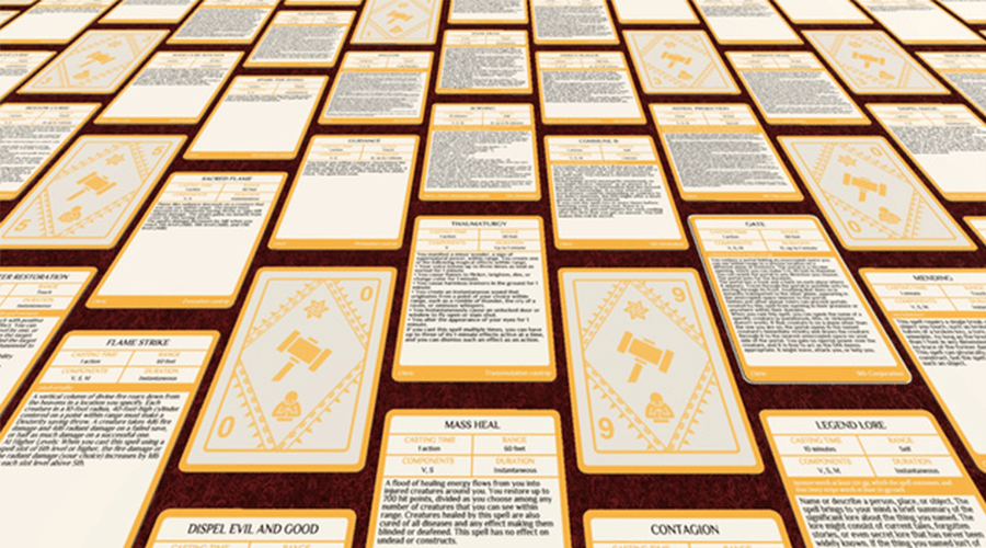Mesmerizing image throughout printable 5e spell cards