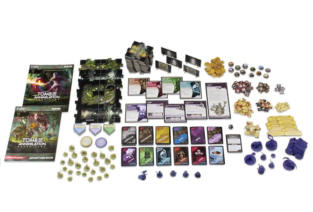 Tomb Of Annihilation Board Game Contents