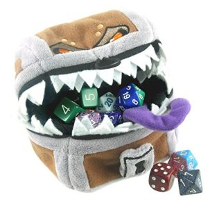 Ultra Pro Mimic Chest Dice Bag-min