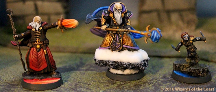 D&D Painted Miniatures