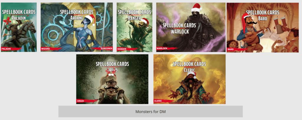 Free D&D Printable Spell Cards (5e)   The DM's Tavern